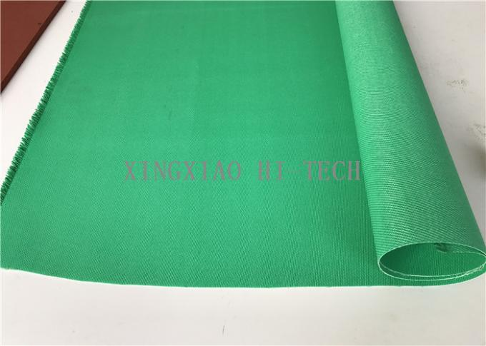Green Silicone Coated Fiberglass Fabric 0 85mm Thick 1000